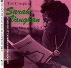 SARAH VAUGHAN The Complete Sarah Vaughan on Mercury, Volume 2: Sings Great American Songs: 1956-1957 album cover
