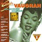 SARAH VAUGHAN The George Gershwin Songbook, Volume 1 album cover