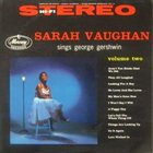 SARAH VAUGHAN The George Gershwin Songbook, Volume 2 album cover