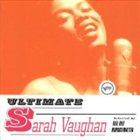 SARAH VAUGHAN Ultimate Sarah Vaughan album cover