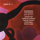 SATOKO FUJII Wandering The Sound Quintet : What Is...? album cover