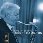 SCOTT HAMILTON Blue 'n' Boogie album cover