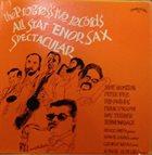 SCOTT HAMILTON Progressive Records All Star Tenor Sax Spectacular album cover