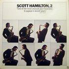 SCOTT HAMILTON Scott Hamilton, 2 album cover