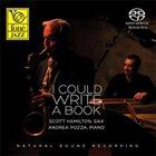 SCOTT HAMILTON Scott Hamilton, Andrea Pozza : I Could Write A Book album cover