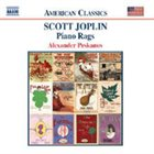 SCOTT JOPLIN Piano Rags (feat. piano: Alexander Peskanov) album cover