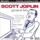 SCOTT JOPLIN Scott Joplin Greatest Hits (feat. piano: John Arpin) album cover