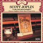 SCOTT JOPLIN The Entertainer album cover