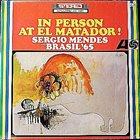 SÉRGIO MENDES In Person At El Matador album cover