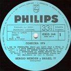 SÉRGIO MENDES Sérgio Mendes & Brasil '77 : Cosecha 1974 album cover