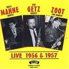 SHELLY MANNE Shelly Manne Quintet - Stan Getz Quartet - Zoot Sims Quartet ‎: Live 1956 & 1957 album cover