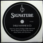 SHELLY MANNE Signature album cover