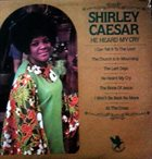 SHIRLEY CAESAR He Heard My Cry album cover