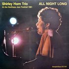 SHIRLEY HORN All Night Long album cover