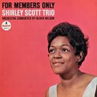 SHIRLEY SCOTT For Members Only album cover