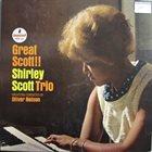 SHIRLEY SCOTT Shirley Scott Trio: Great Scott!! album cover