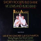 SHORTY ROGERS Back Again album cover