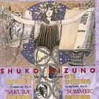 SHUKO MIZUNO Symphony 2: Sakura / Symphonic Poem: Summer album cover
