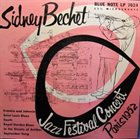 SIDNEY BECHET Jazz Festival Concert Paris 1952 album cover
