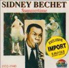 SIDNEY BECHET Summertime: 1932-1940 album cover