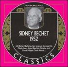 SIDNEY BECHET The Chronological Classics: Sidney Bechet 1952 album cover