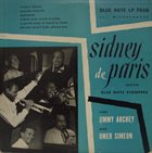 SIDNEY DE PARIS Sidney Deparis & His Blue Note Stompers album cover