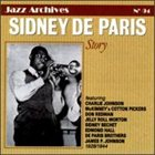 SIDNEY DE PARIS Story 1928-1944 album cover
