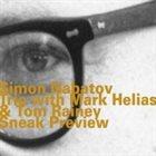 SIMON NABATOV Sneak Preview album cover