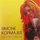 SIMONE KOPMAJER Live At Heidi's Jazzclub album cover