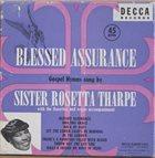 SISTER ROSETTA THARPE Blessed Assurance (aka Spirituals) album cover