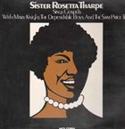 SISTER ROSETTA THARPE Sings Gospels With Mary Knight, The Dependable Boys And The Sam Price Trio album cover