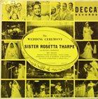 SISTER ROSETTA THARPE Wedding Ceremony Of Sister Rosetta Tharpe And Russell Morrison album cover