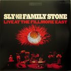 SLY AND THE FAMILY STONE Live At The Fillmore East October 4th & 5th, 1968 album cover