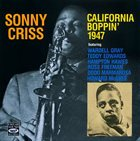 SONNY CRISS California Boppin' 1947 album cover