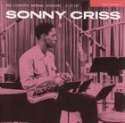 SONNY CRISS The Complete Imperial Sessions album cover