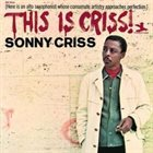 SONNY CRISS This Is Criss! album cover