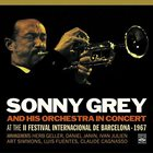 SONNY GREY In Concert at the II Festival Int. de Barcelona 1967 album cover