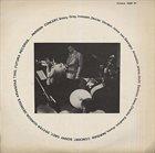 SONNY GREY Sonny Grey, Dexter Gordon, Georges Arvanitas Trio : Parisian Concert album cover