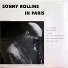 SONNY ROLLINS In Paris album cover