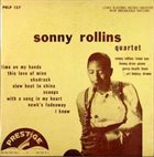 SONNY ROLLINS Sonny Rollins Quartet album cover