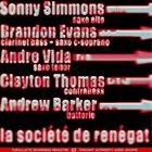 SONNY SIMMONS La Société de Renégat EP album cover