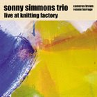 SONNY SIMMONS Live at the Knitting Factory album cover