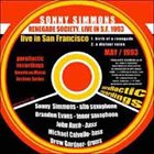 SONNY SIMMONS Renegade Society, Live in S.F. 1993 album cover