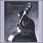 SONNY STITT Live! Legends of the Saxophone album cover