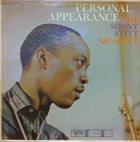 SONNY STITT Personal Appearance album cover