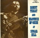 SONNY TERRY & BROWNIE MCGHEE At Sugar Hill album cover