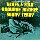 SONNY TERRY & BROWNIE MCGHEE Blues & Folk album cover