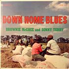 SONNY TERRY & BROWNIE MCGHEE Down Home Blues (1961) album cover