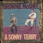 SONNY TERRY & BROWNIE MCGHEE Jazz Heritage Series album cover