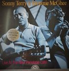 SONNY TERRY & BROWNIE MCGHEE Live At The New Penelope Cafe album cover